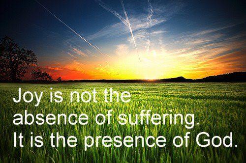 Joy-in-suffering