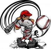 13135191-baseball-Cartoon-Player-with-bat-and-ball-vector-illustration