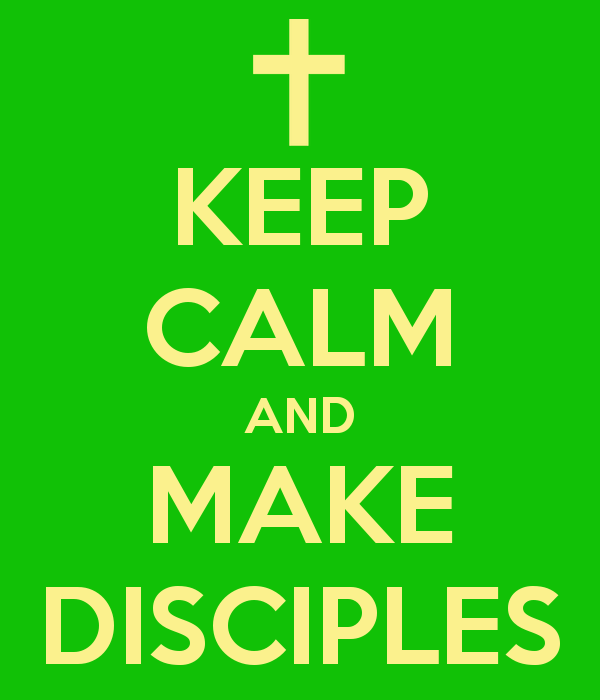 Just do your job: Make Disciples #UMC